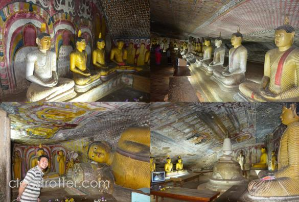 Basically, the sanctuaries are full of Buddha statues.