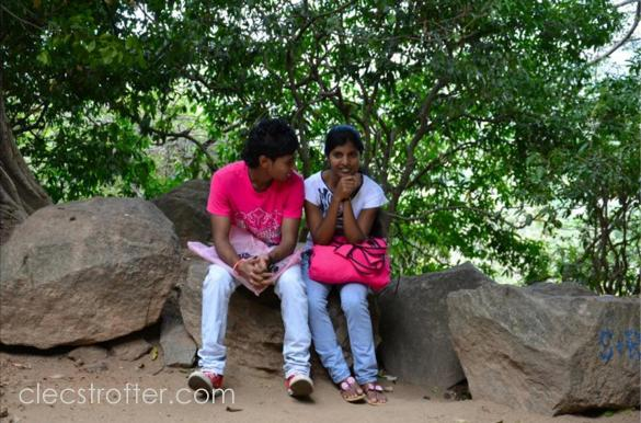 The place becomes a dating place for young Lankan couples. I saw at least two pairs while on my way up.